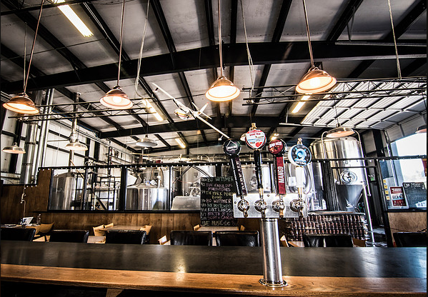 The Taproom. (Photo Credit: Northwest Brewing Company)